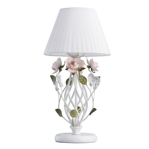 Lampa Stołowa Provence Flora 1 Biały - 421034801