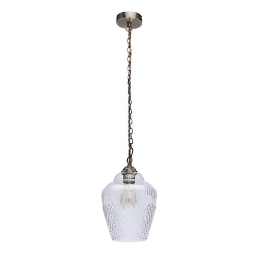Lampa wisząca Amanda Classic 1 Mosiądz - 481012001
