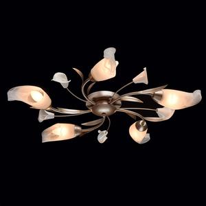 Lampa wisząca Verona Flora 5 Srebrny - 242016205 small 1