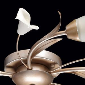 Lampa wisząca Verona Flora 5 Srebrny - 242016205 small 9