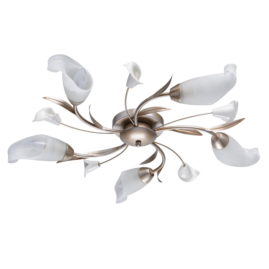Lampa wisząca Verona Flora 5 Srebrny - 242016205