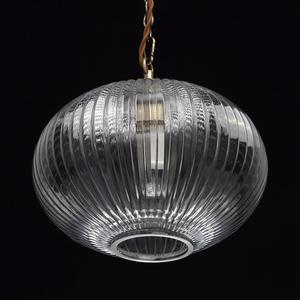 Lampa wisząca Amanda Classic 1 Mosiądz - 481012201 small 1