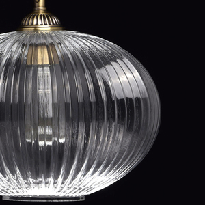 Lampa wisząca Amanda Classic 1 Mosiądz - 481012201 small 4