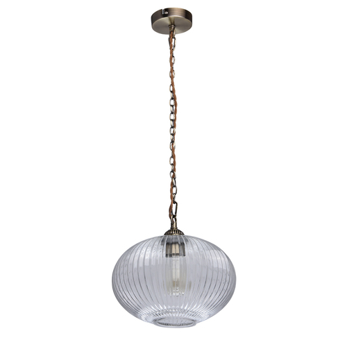 Lampa wisząca Amanda Classic 1 Mosiądz - 481012201