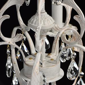 Żyrandol Candle Classic 5 Biały - 301019805 small 10
