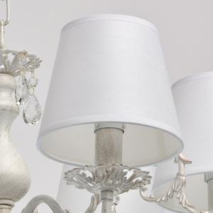 Lampa wisząca Vitalina Elegance 6 Biały - 448012106 small 4