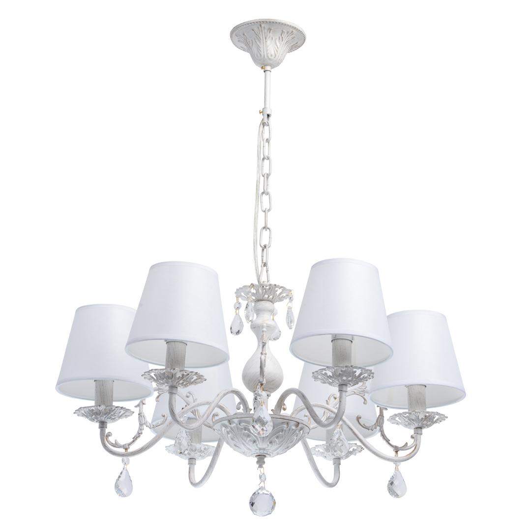 Lampa wisząca Vitalina Elegance 6 Biały - 448012106