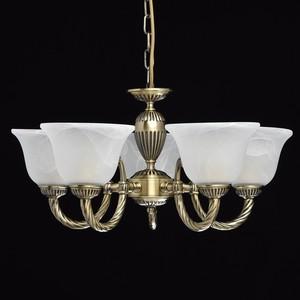 Lampa wisząca Ariadna Classic 5 Mosiądz - 450016305 small 2