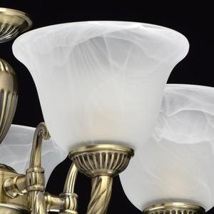Lampa wisząca Ariadna Classic 5 Mosiądz - 450016305 small 4