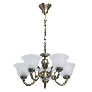 Lampa wisząca Ariadna Classic 5 Mosiądz - 450016305 small 0