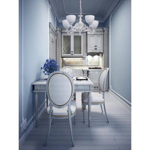 Lampa wisząca Ariadna Classic 5 Biały - 450016605 small 12