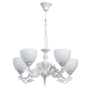 Lampa wisząca Ariadna Classic 5 Biały - 450016605 small 0