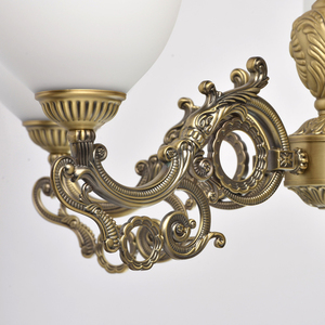 Lampa wisząca Ariadna Classic 5 Mosiądz - 450016805 small 5