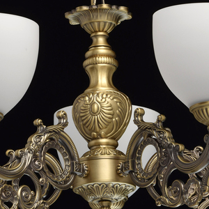 Lampa wisząca Ariadna Classic 5 Mosiądz - 450016805 small 7