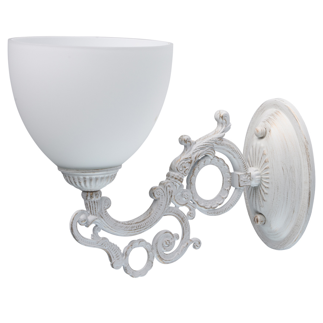 Kinkiet Ariadna Classic 1 Biały - 450026501