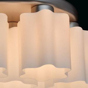 Lampa wisząca Ilonika Megapolis 7 Srebrny - 451011407 small 5