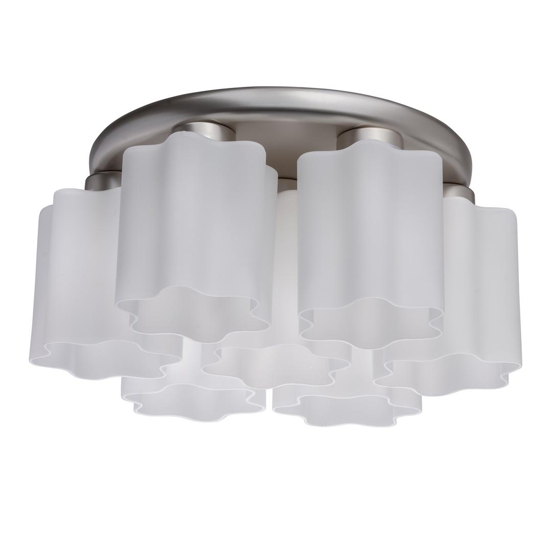 Lampa wisząca Ilonika Megapolis 7 Srebrny - 451011407