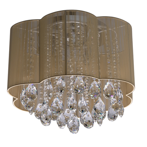 Lampa wisząca Jacqueline Elegance 6 Chrom - 465014306
