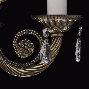 Lampa wisząca Aurora Classic 5 Mosiądz - 371012405 small 10
