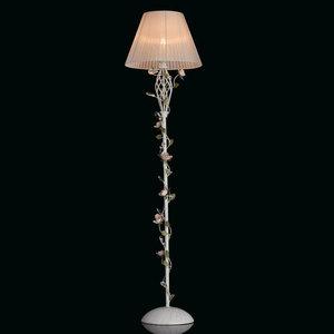 Lampa Podłogowa Provence Flora 1 Biały - 421044901 small 1