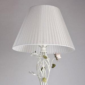 Lampa Podłogowa Provence Flora 1 Biały - 421044901 small 2