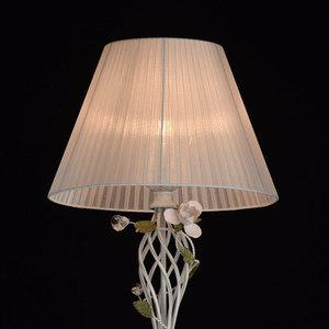 Lampa Podłogowa Provence Flora 1 Biały - 421044901 small 3