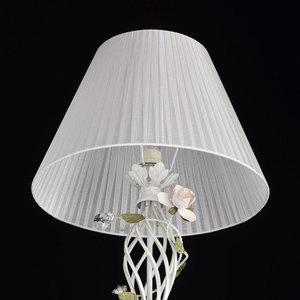 Lampa Podłogowa Provence Flora 1 Biały - 421044901 small 4