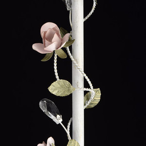 Lampa Podłogowa Provence Flora 1 Biały - 421044901 small 6