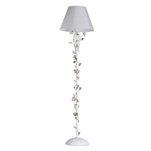 Lampa Podłogowa Provence Flora 1 Biały - 421044901 small 0