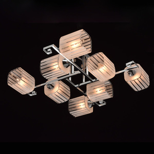 Lampa wisząca Alpha Megapolis 8 Chrom - 673013008 small 2