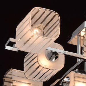 Lampa wisząca Alpha Megapolis 8 Chrom - 673013008 small 4