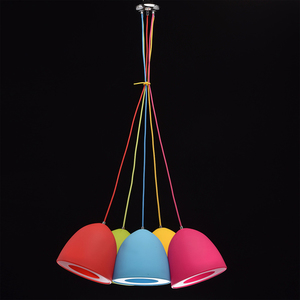 Lampa wisząca Siegen Kinder 5 Chrom - 646010905 small 1
