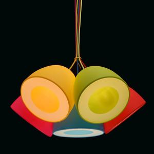 Lampa wisząca Siegen Kinder 5 Chrom - 646010905 small 2