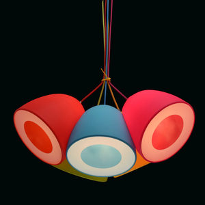 Lampa wisząca Siegen Kinder 5 Chrom - 646010905 small 3