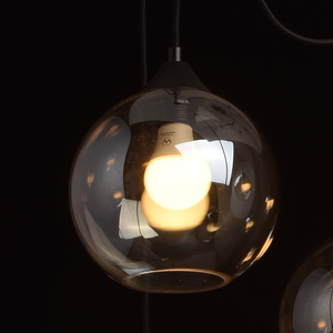 Lampa wisząca Fusion Megapolis 8 Czarny - 392016208 small 5
