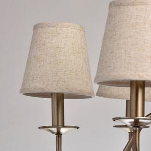 Lampa wisząca Augustina Elegance 6 Srebrny - 419011206 small 3
