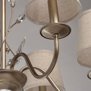 Lampa wisząca Augustina Elegance 6 Srebrny - 419011206 small 6