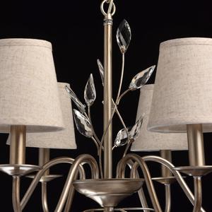 Lampa wisząca Augustina Elegance 6 Srebrny - 419011206 small 8