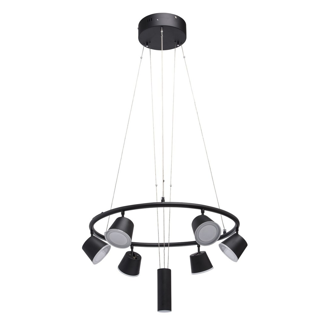 Lampa wisząca Galaxy Hi-Tech 6 Czarny - 632015106