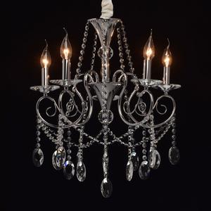 Lampa wisząca Adele Crystal 5 Chrom - 373011705 small 1