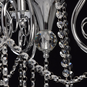 Lampa wisząca Adele Crystal 5 Chrom - 373011705 small 12