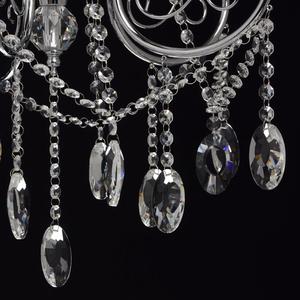 Lampa wisząca Adele Crystal 5 Chrom - 373011705 small 13