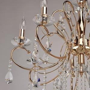 Lampa wisząca Adele Crystal 8 Złoty - 373012808 small 8