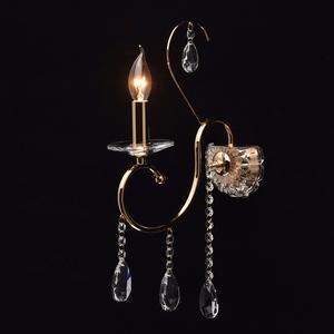 Kinkiet Adele Crystal 1 Złoty - 373023001 small 1