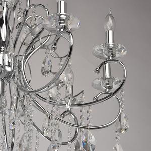 Lampa wisząca Adele Crystal 10 Chrom - 373013410 small 8