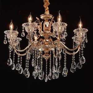 Lampa wisząca Selena Crystal 8 Złoty - 482013208 small 1