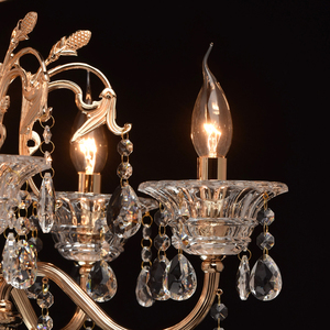 Lampa wisząca Selena Crystal 8 Złoty - 482013208 small 4
