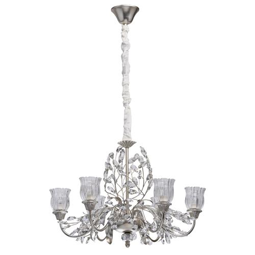 Lampa wisząca Viola Flora 6 Srebrny - 298012106