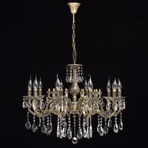 Lampa wisząca Toscana Classic 10 Mosiądz - 685010110 small 2