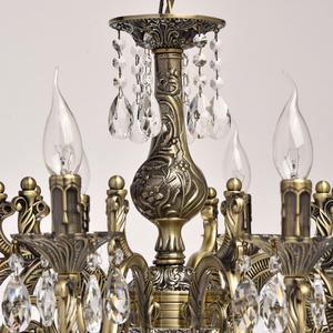 Lampa wisząca Toscana Classic 10 Mosiądz - 685010110 small 8